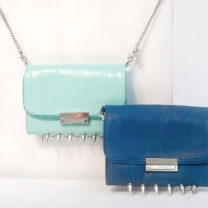 clutch-studded-wallet-blue-and-turcoise